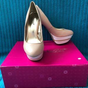 """Shoe Dazzle Shoes - Showstopper Shoedazzle """"Taya"""" platform stilettos"""